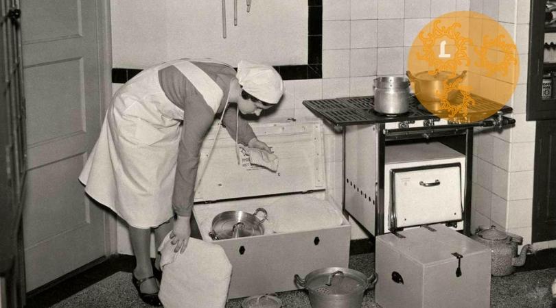 Ouderwets koken in de hooikist