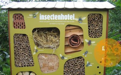 Zet een insectenhotel in je tuin