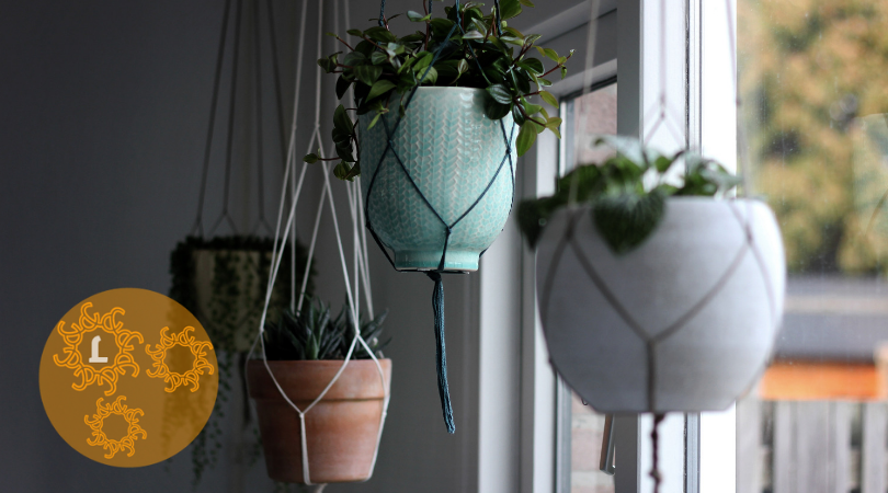 DIY: plantenhanger