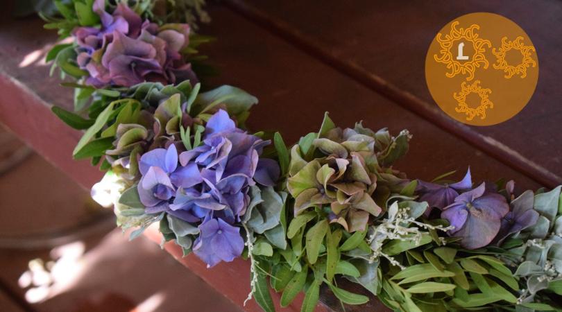 DIY: kransen maken met droogbloemen
