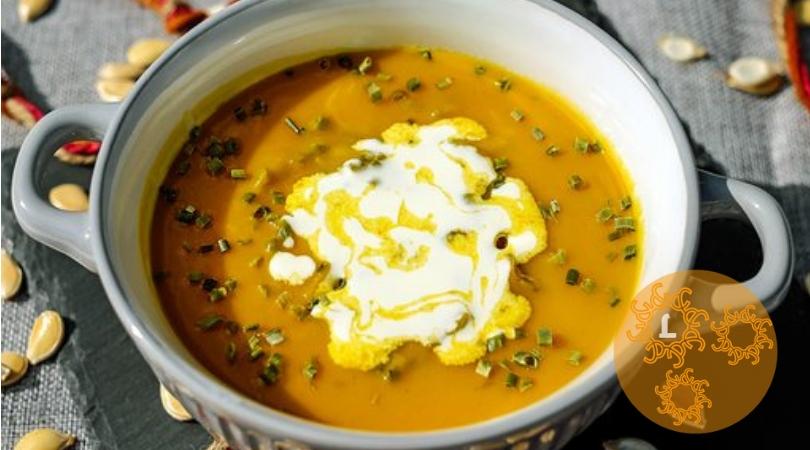Recept: heerlijk lunchen met Pompoensoep