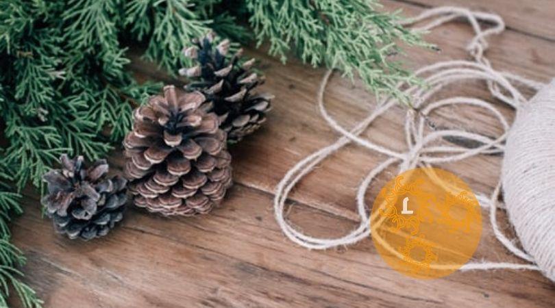 Zelf maken: een kerstkrans