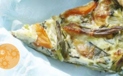 Paas recept: Quiche met voorjaarsgroenten