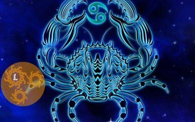 Kristallen en het sterrenbeeld Kreeft