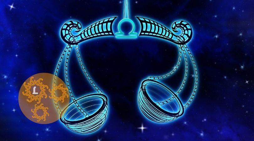 Kristallen en het sterrenbeeld Weegschaal