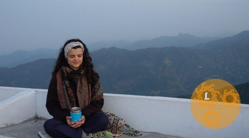 Meditatie bij rouwverwerking.