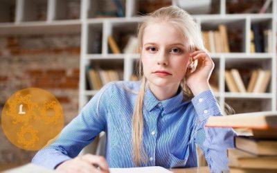 Troostgedicht: een meisje van veertien