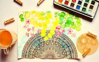 Een spirituele hobby: Mandala's tekenen