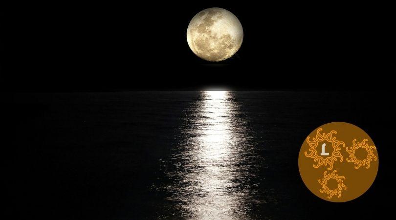 De invloeden van de maan